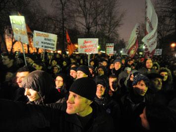 Протестные акции спровоцируют отток капитала из России